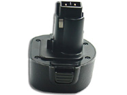 BLACK & DECKER A9251 power tool battery (cordless drill battery) replacement (Ni-Cd 1200mAh)